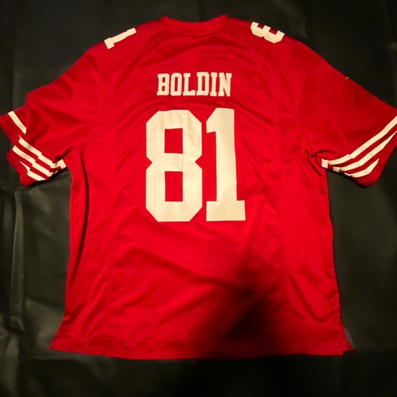 49ers Anquan Boldin Jersey 3XL *Authentic*